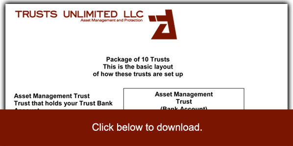 Trust Diagram Trusts Unlimited LLC