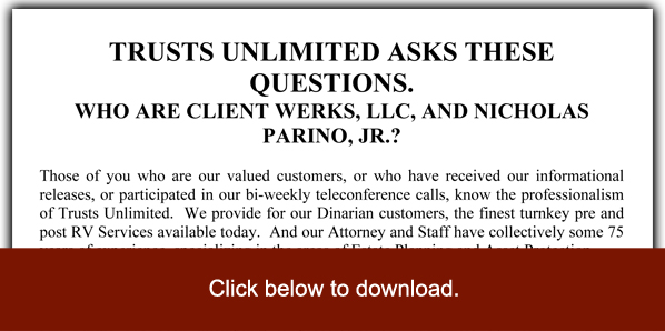 Who Is Client Werks LLC